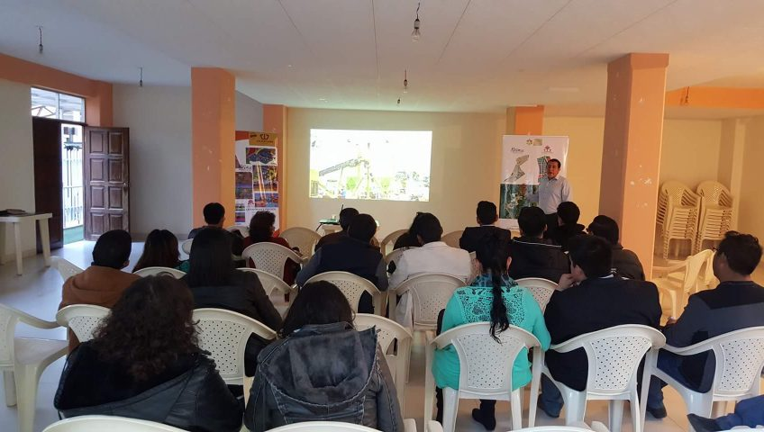 Presentación en La Paz